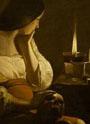 La Magdalena Penitente. Georges La Tour