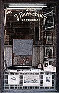 Escaparate de la Sala J. Berriobeña