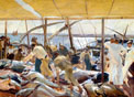 Joaquín Sorolla: Ayamonte. La pesca del atún ©Hispanic Society of America, New York.