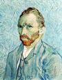Vincent Van Gogh. Autorretrato. 1887