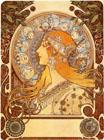 Alphonse Mucha en el Museo de Art Decó y Art Nouveau de Salamanca