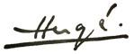 La firma de Hergé